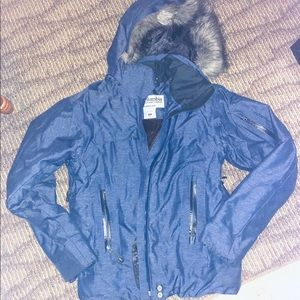 Columbia snow winter jacket size XS navy